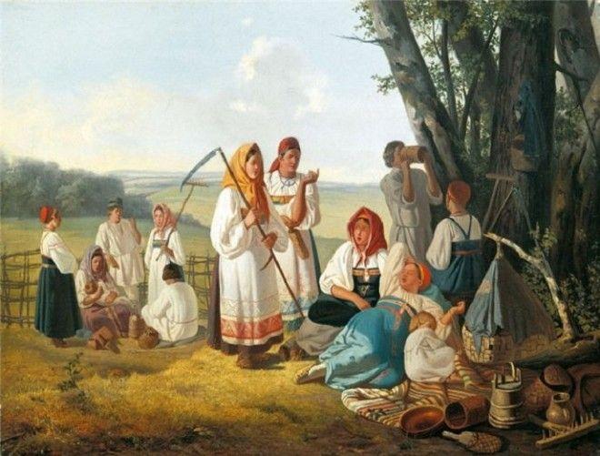 SBЗа что крестьянки убивали своих мужей