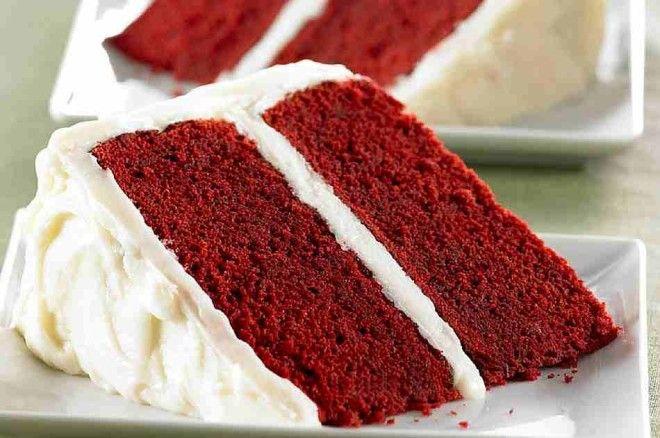 Картинки по запросу red velvet cake recette