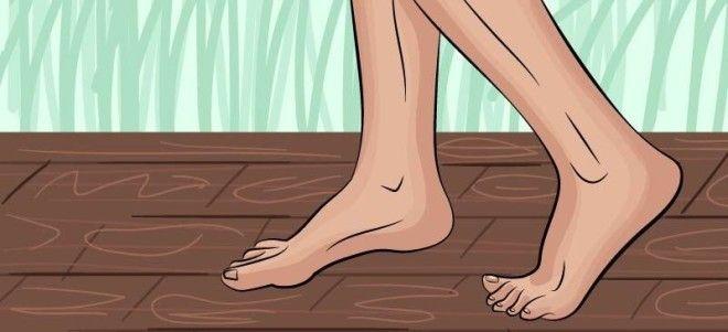 BОртопеды выделили 9 повседневных привычек которые вредны для здоровья ног
