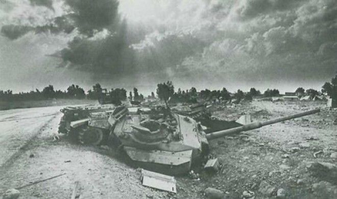 В ходе Шестидневной войны Египет потерял большую часть своей техники