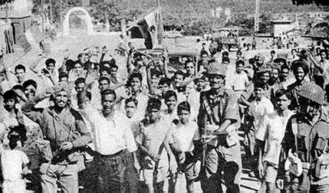 Так гоанцы встретили индийские войска