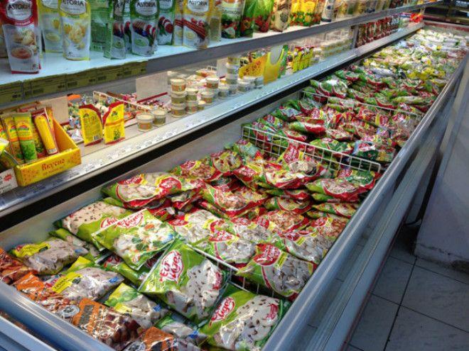 Покупка замороженной продукции