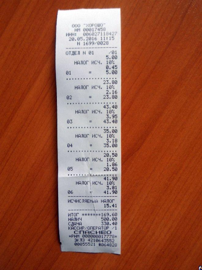 Цена на ценнике и чеке
