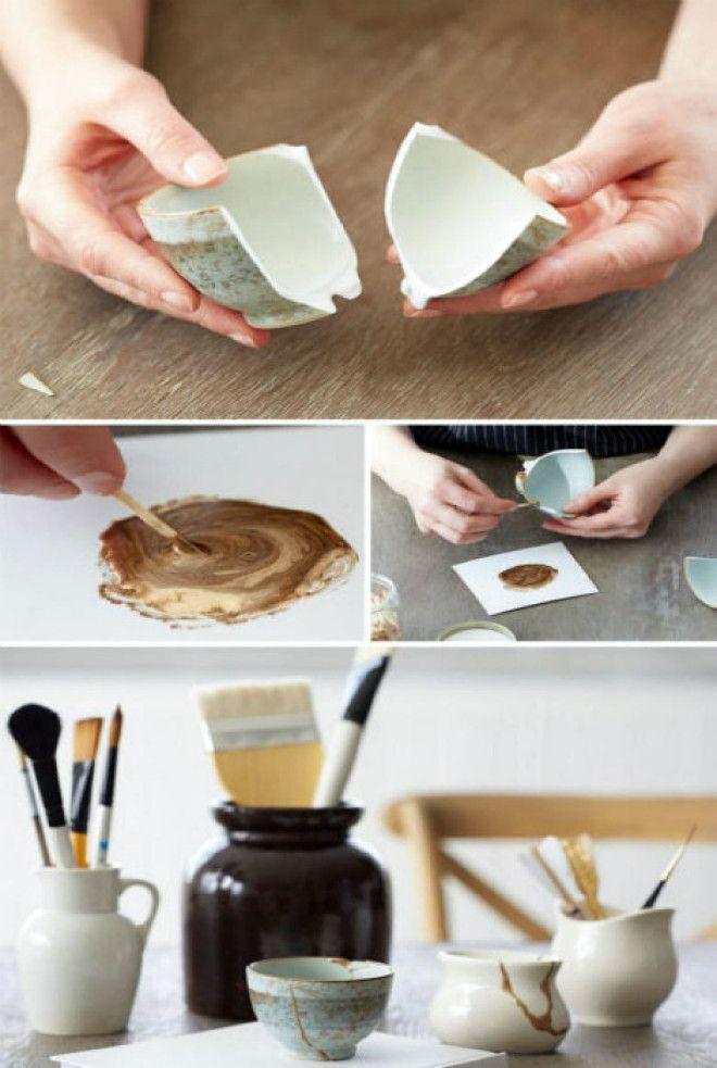 Цветной клей для керамики