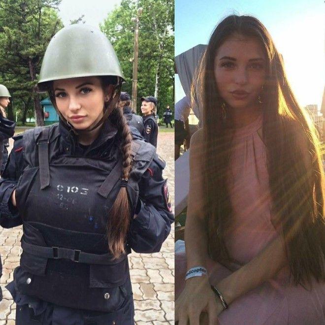L6 милых девушек которые одинаково прекрасны как в униформе так и без неё