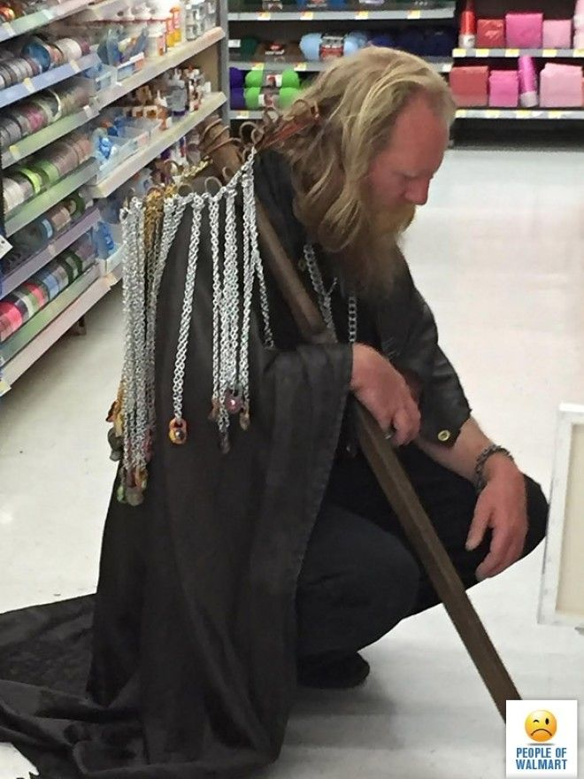 LBМодный показ 23 безумных наряда посетителей американских супермаркетов