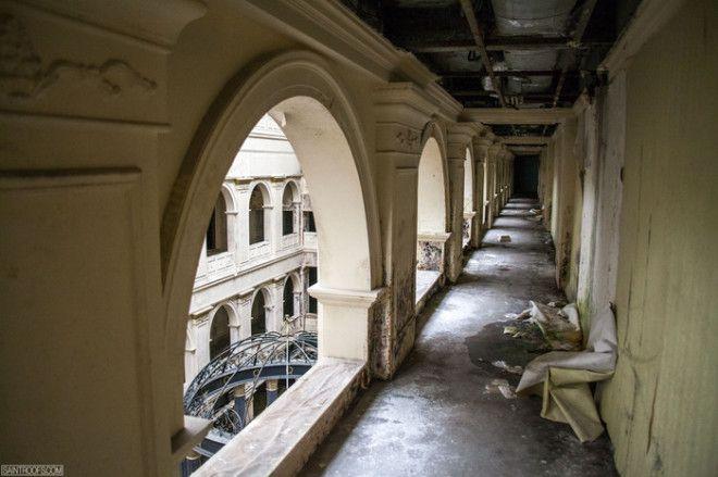 S4 фото заброшенной гостиницы Питерав которой не было ни одного посетителя