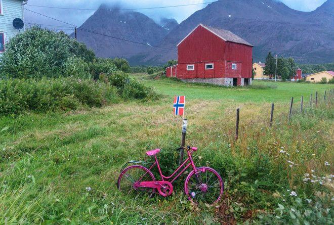 Как используют велосипеды в Норвегии