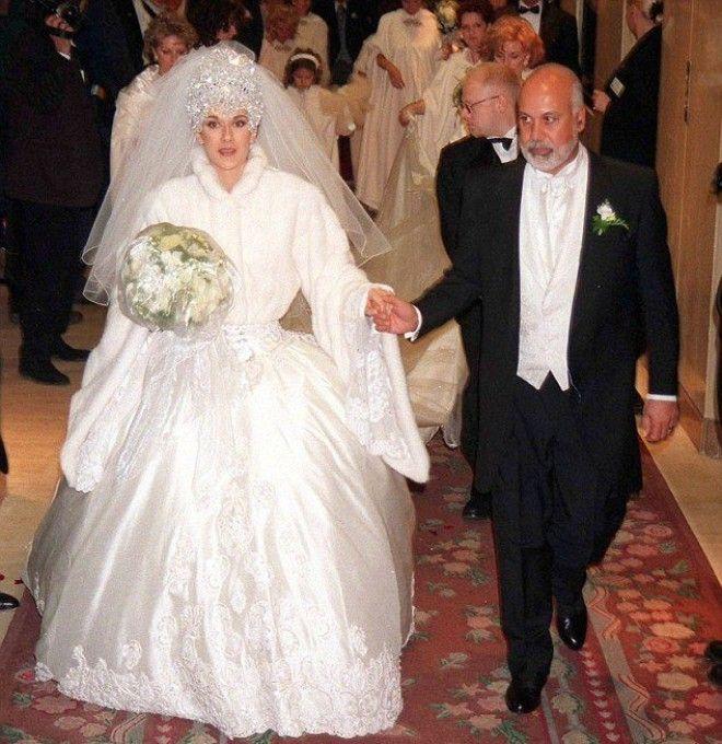 16 самых чудовищных свадебных платьев невест которые немного перестарались