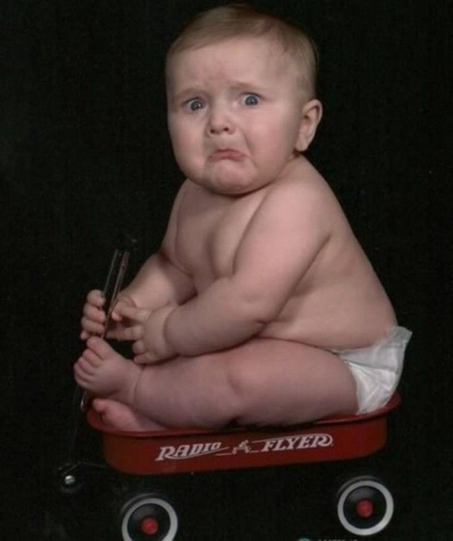 BДумаете только ваш ребенок плохо получается на фото
