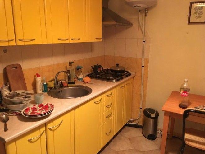Кухня в квартире 32летнего россиянина по имени Иван