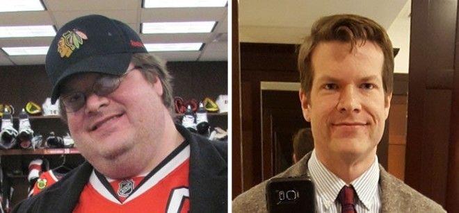 20 невероятных примеров того насколько меняются лица людей после похудения
