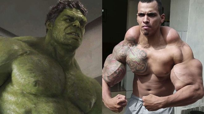Romario Dos Santos Alves The Hulk