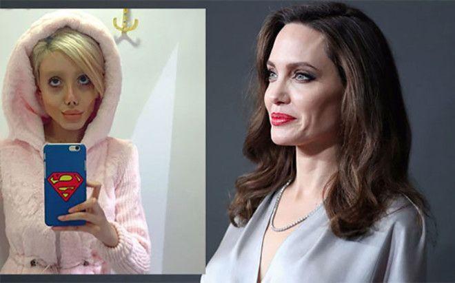 Sahar Tabar Angelina Jolie