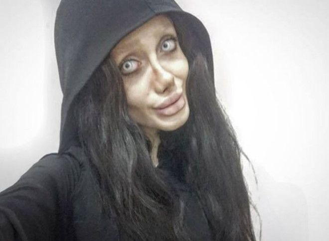 Иранка уверена что выглядит точно как Анджелина Джоли