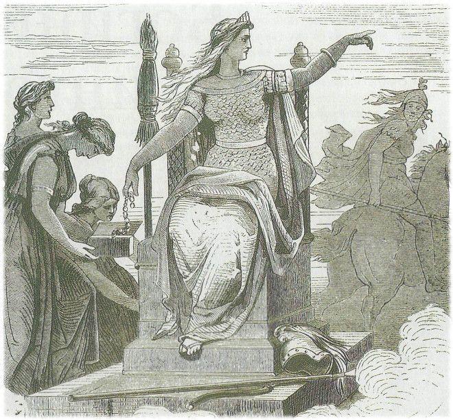 Картинки по запросу богиня фригг