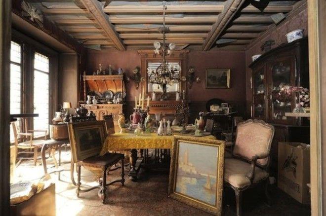 Интерьер квартиры которую не открывали с 1939 года