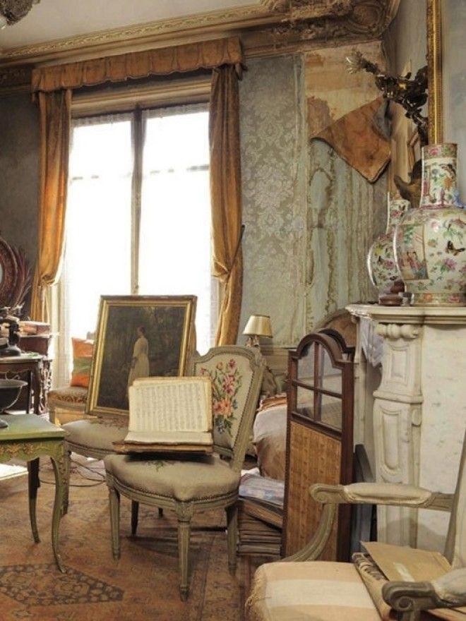 Интерьер квартиры которую не открывали 72 года