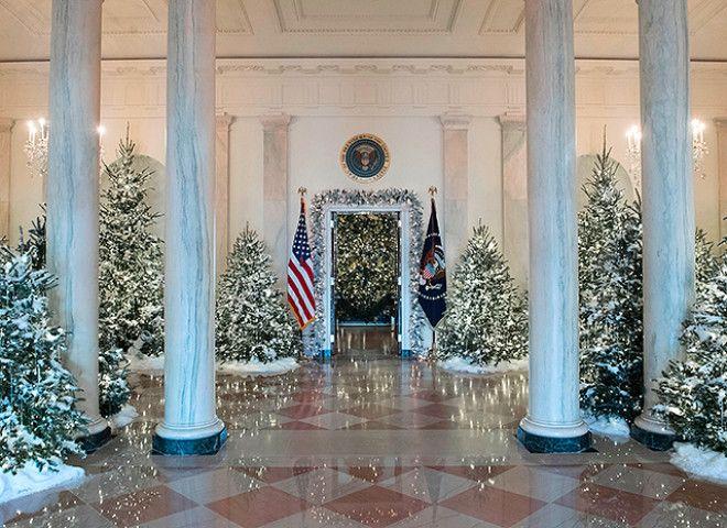 мелания трамп Рождество 2