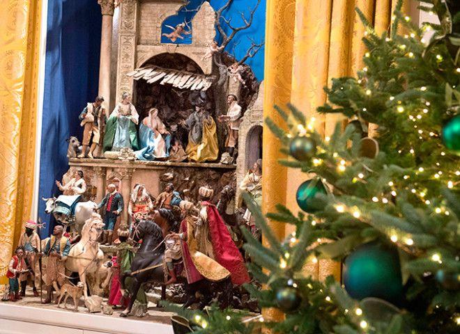 мелания трамп Рождество 3
