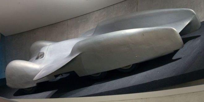 Супербыстрый немецкий автомобиль MercedesBenz T80 сейчас хранится в музее завода Фото ruwikipediaorg