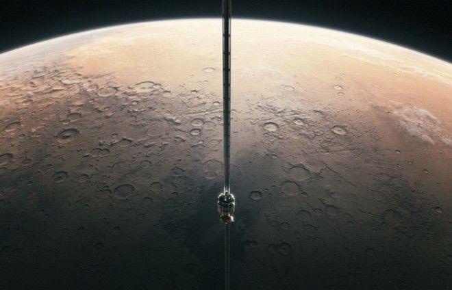 Планета Плутон космический лифт реален