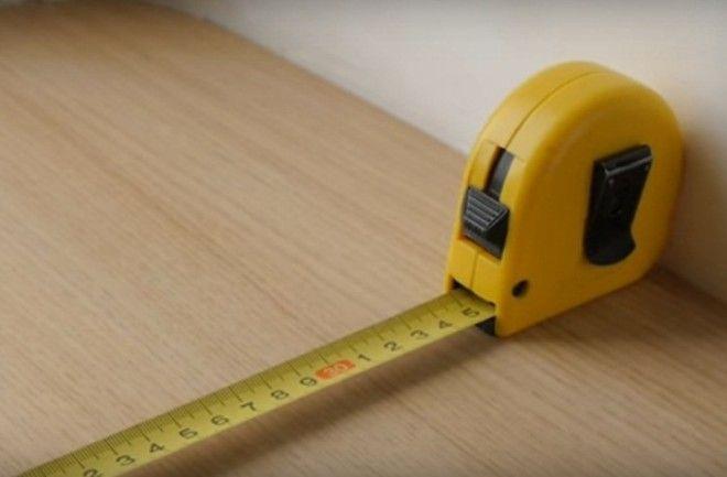 Для точного измерения достаточно знать длину корпуса рулетки
