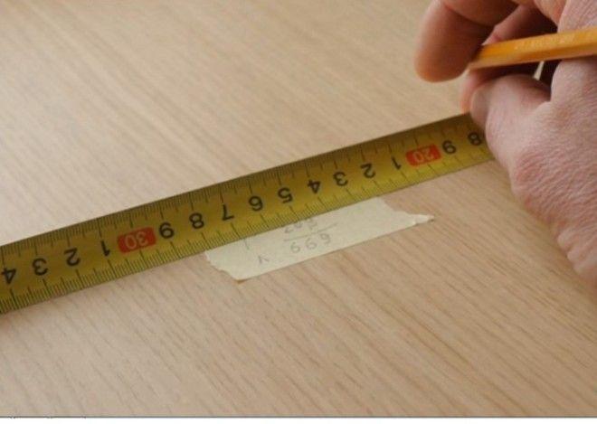 Измерение слишком длинного предмета