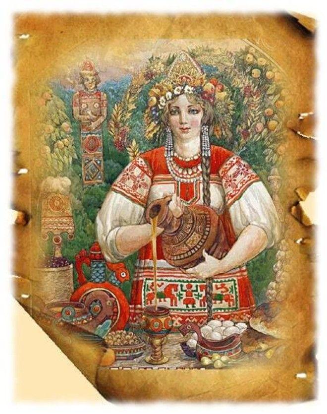 Картинки по запросу богиня плодородия у славян