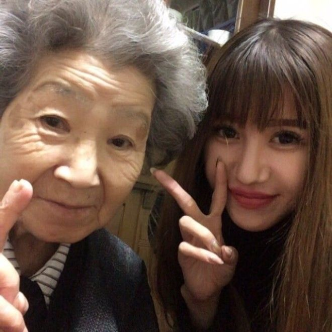 """This whole incident reminded me to cherish my kind grandma,"" Tomomi said. And now, if you"