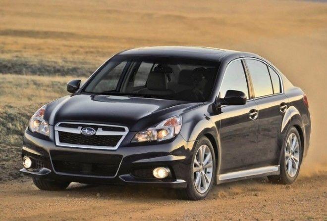 Черный Subaru Legacy 2013 модельного года Фото cheatsheetcom