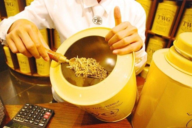 Yellow Gold Tea Buds золотой сингапурский чай