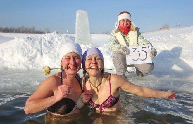 Купание в холодной воде уменьшение стресса