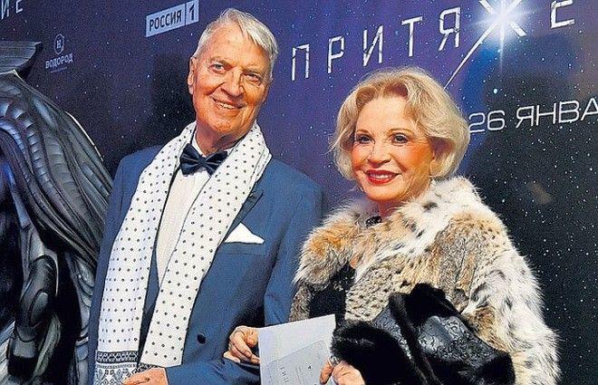Людмила Максакова и Петер Андреас Игенбергс Фото wwwcapelinocom