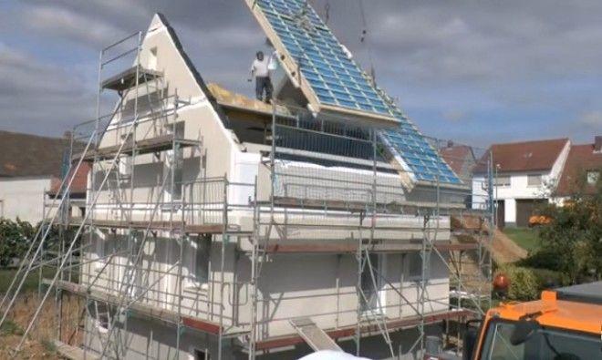 Дом который строится за 24 часа