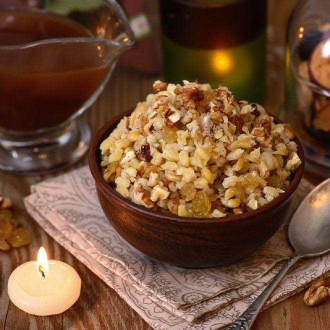 3 традиционных рецепта рождественской кутьи