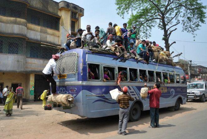 Как обычный автобус превращается в двухэтажный