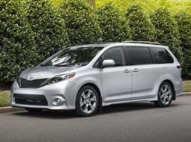 Минивэн Toyota Sienna