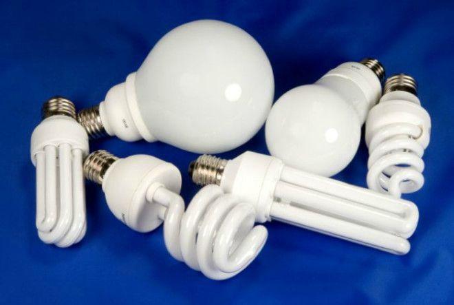 Энергосберегающие и светодиодные лампочки