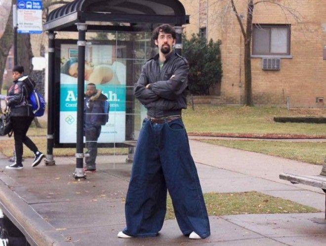 SЭти люди просто хотели выглядеть модно но чтото пошло не так