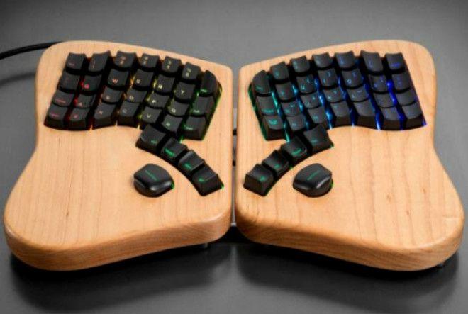 Клавиатурабабочка Keyboardio