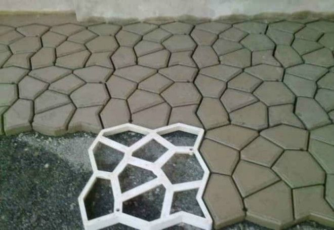 Плитка нестандартной формы