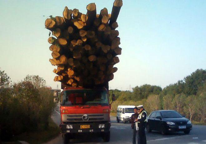 Опасный грузовик