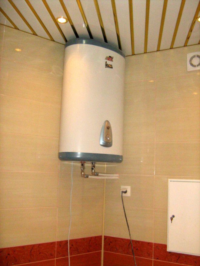 Использование водонагревателя