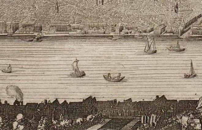Река Темза была полна гниющего мяса