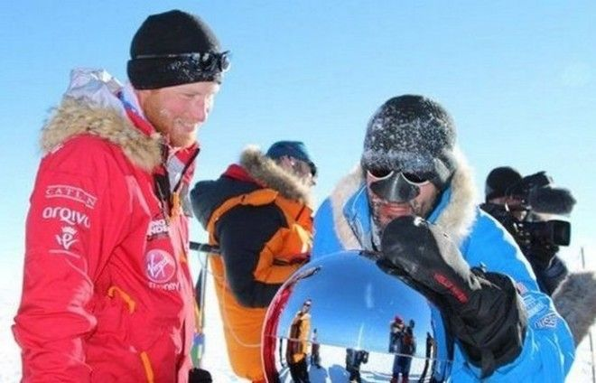Необычное путешествие в Антарктиду принца Гарри