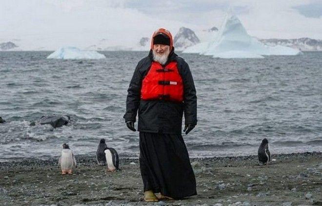Необычное путешествие в Антарктиду патриарха Кирилла