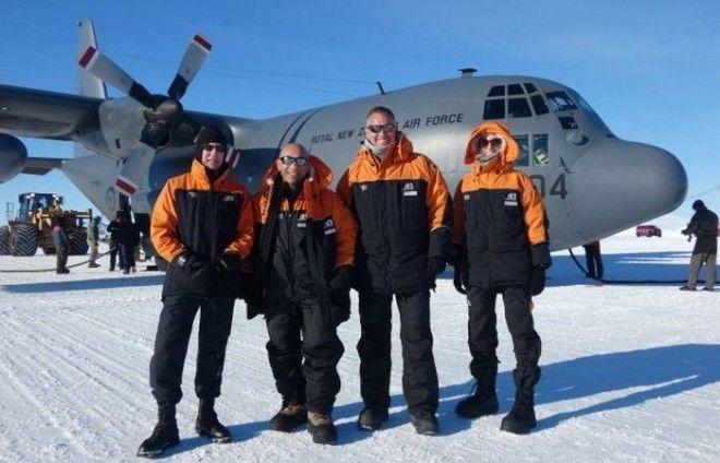 Необычная экспедиция в Антарктиду министра обороны Новой Зеландии