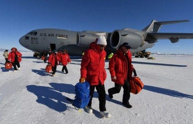 Необычное путешествие в Антарктиду Джона Керри