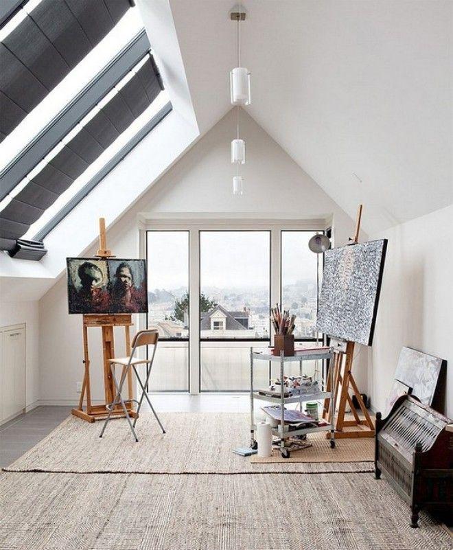 Комната в которой живёт вдохновение
